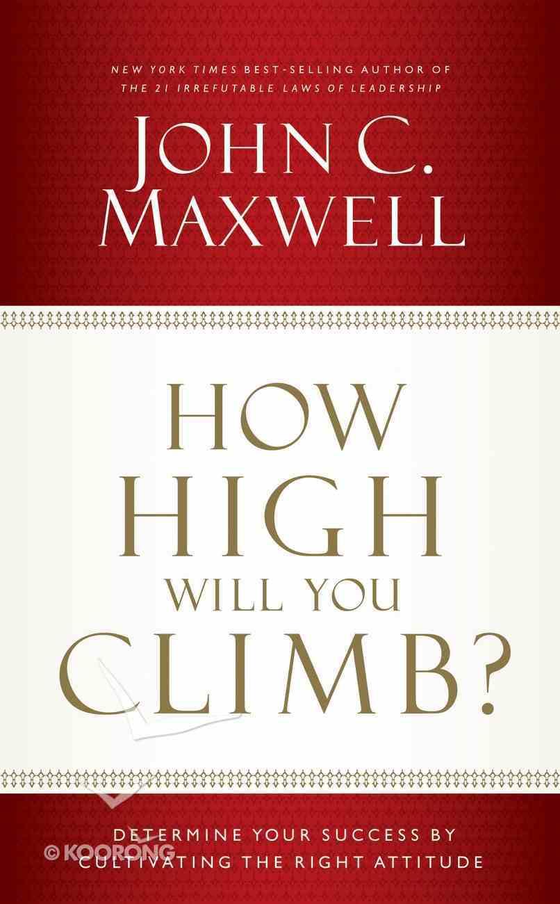 How High Will You Climb? eBook