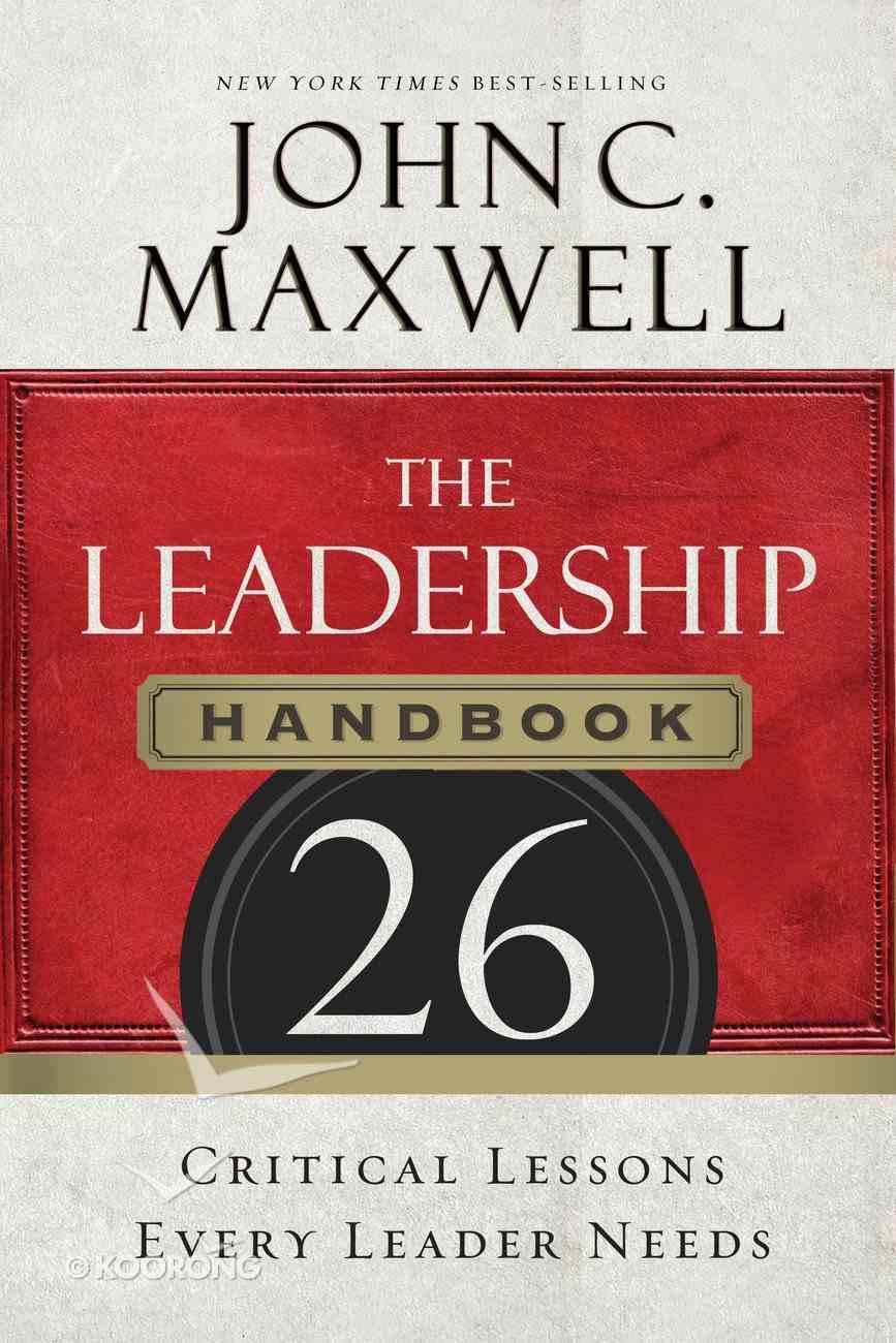 The Leadership Handbook eBook
