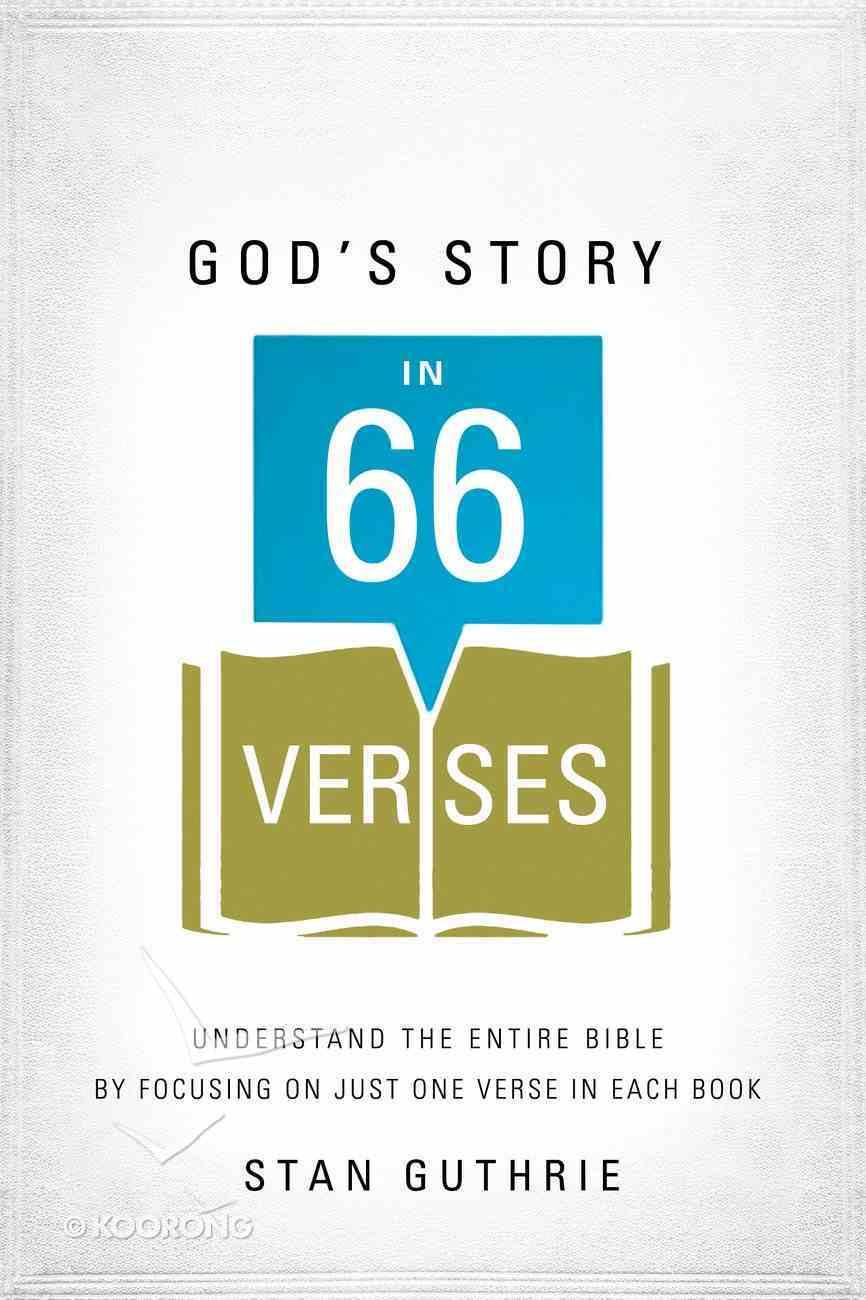 God's Story in 66 Verses eBook