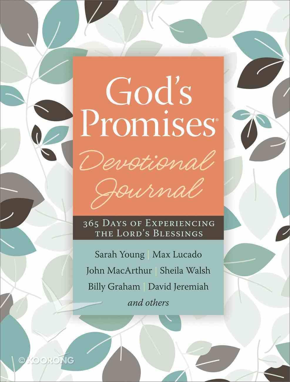 Devotional Journal: God's Promises eBook