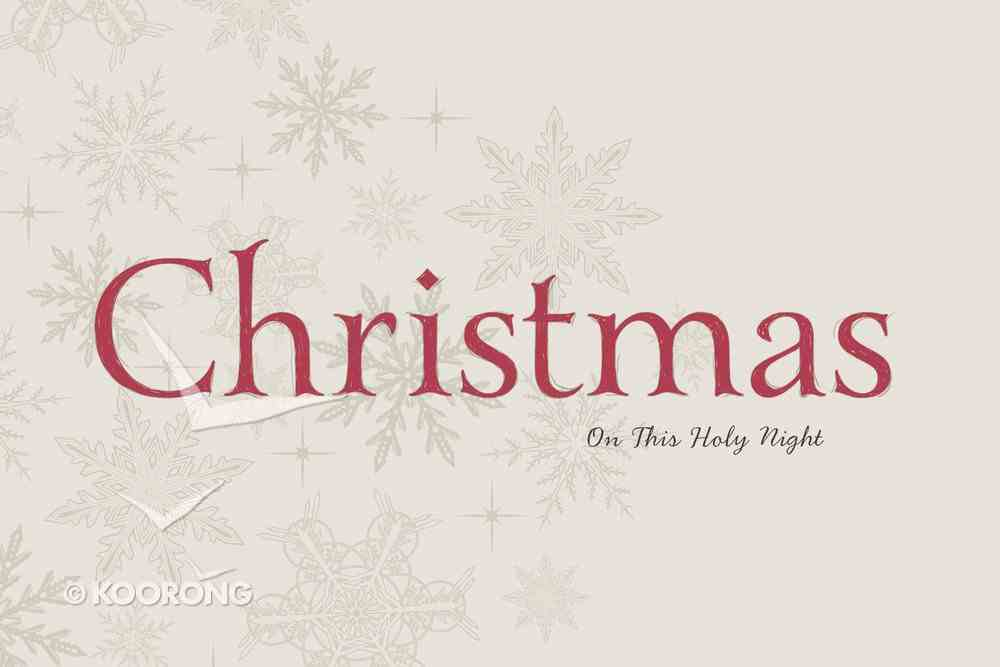 Christmas: On This Holy Night eBook