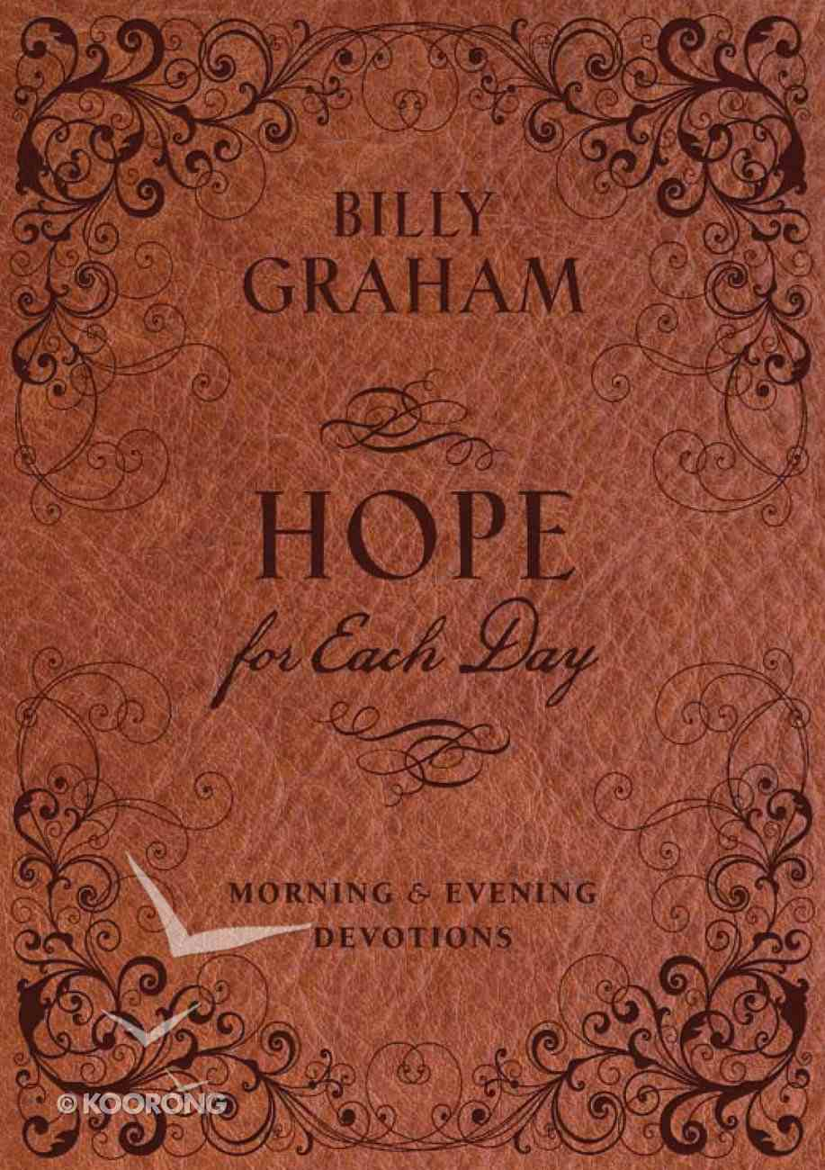 Hope For Each Day Morning and Evening Devotions eBook