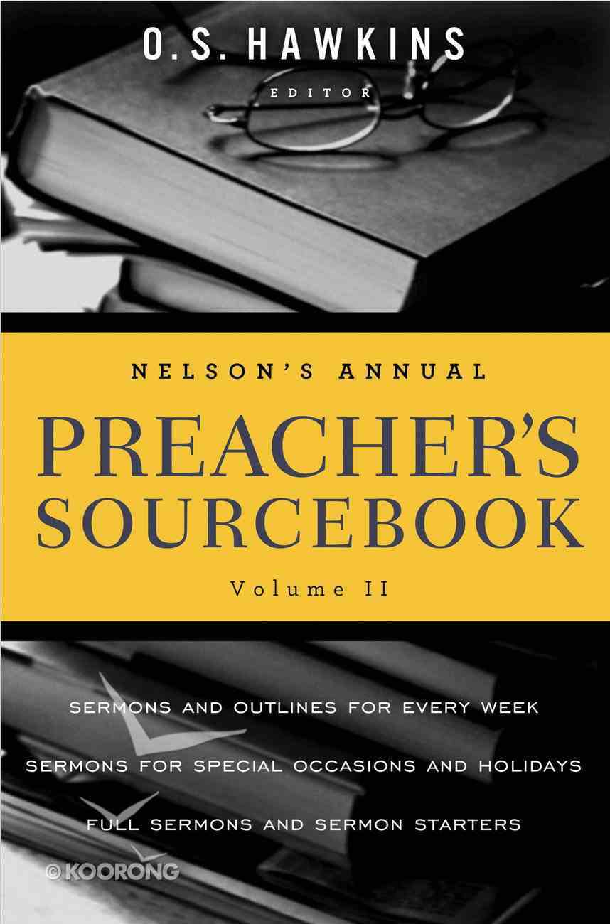 Nelson's Annual Preacher's Sourcebook (Volume 2) eBook