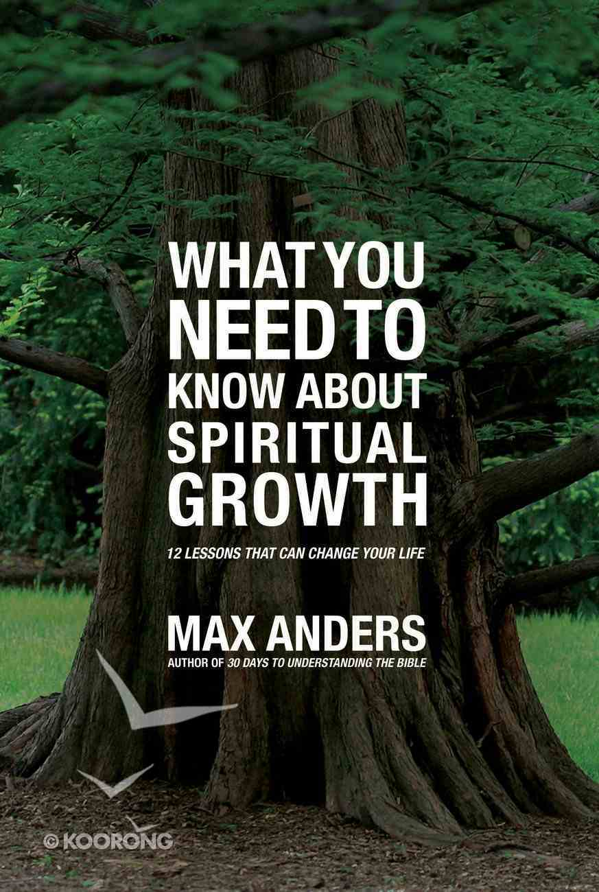 What You Need to Know About Spiritual Growth eBook