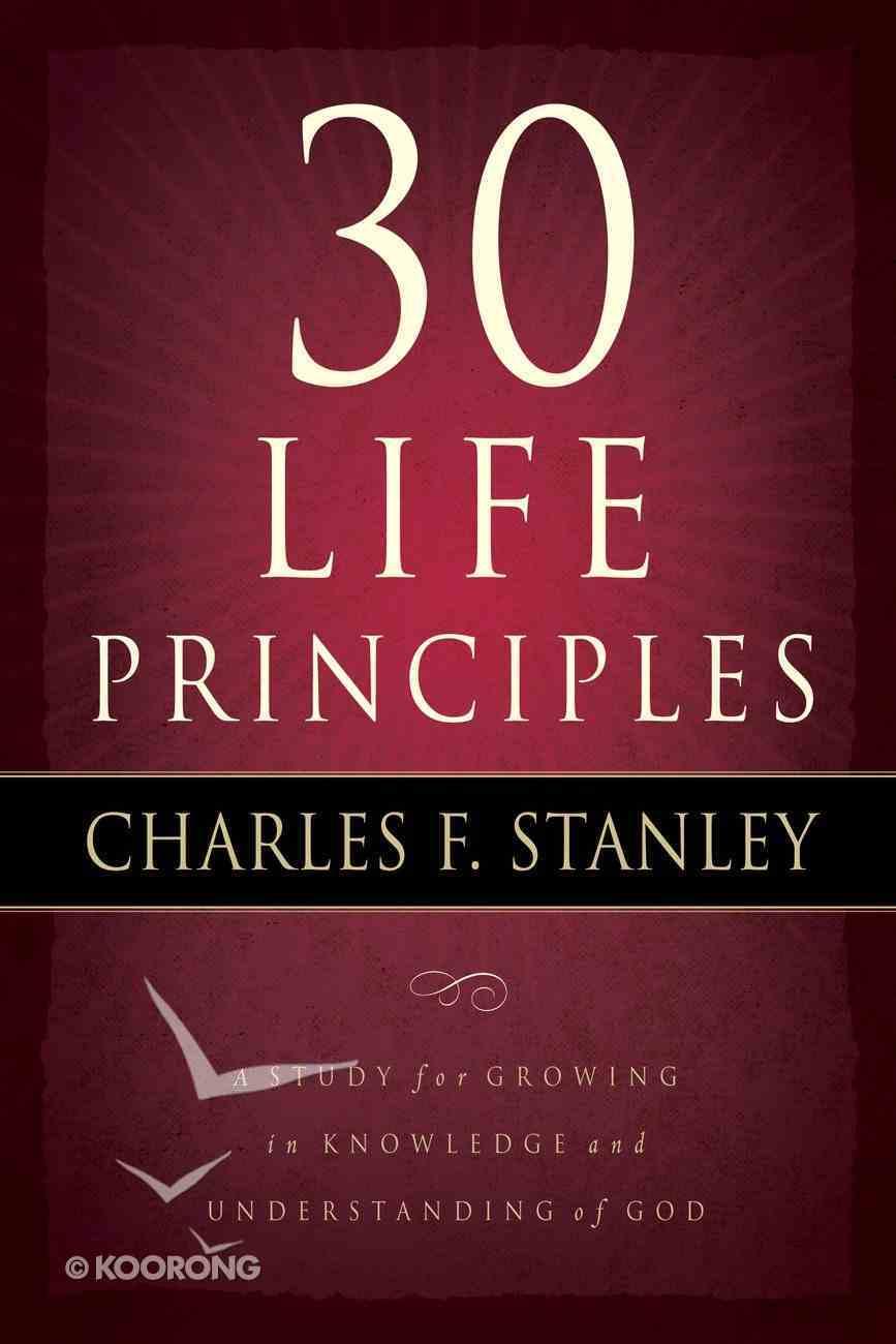 30 Life Principles eBook
