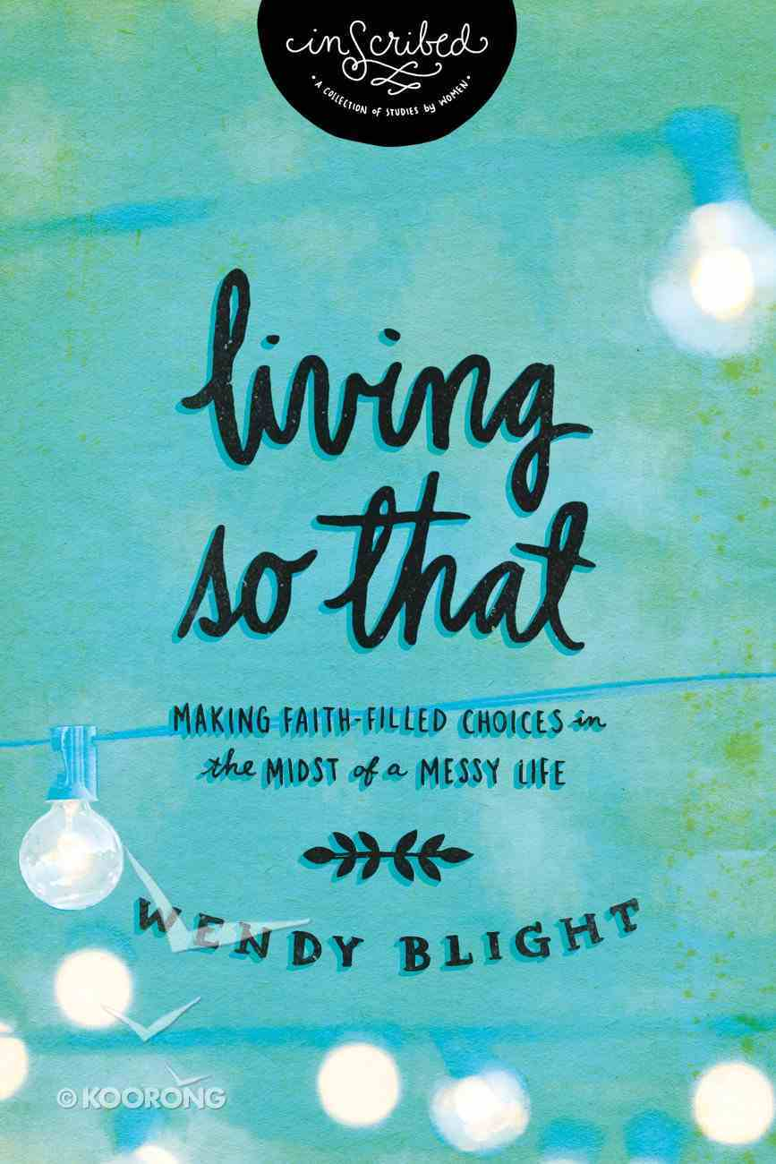 "Living ""So That"" (Inscribed Collection) eBook"