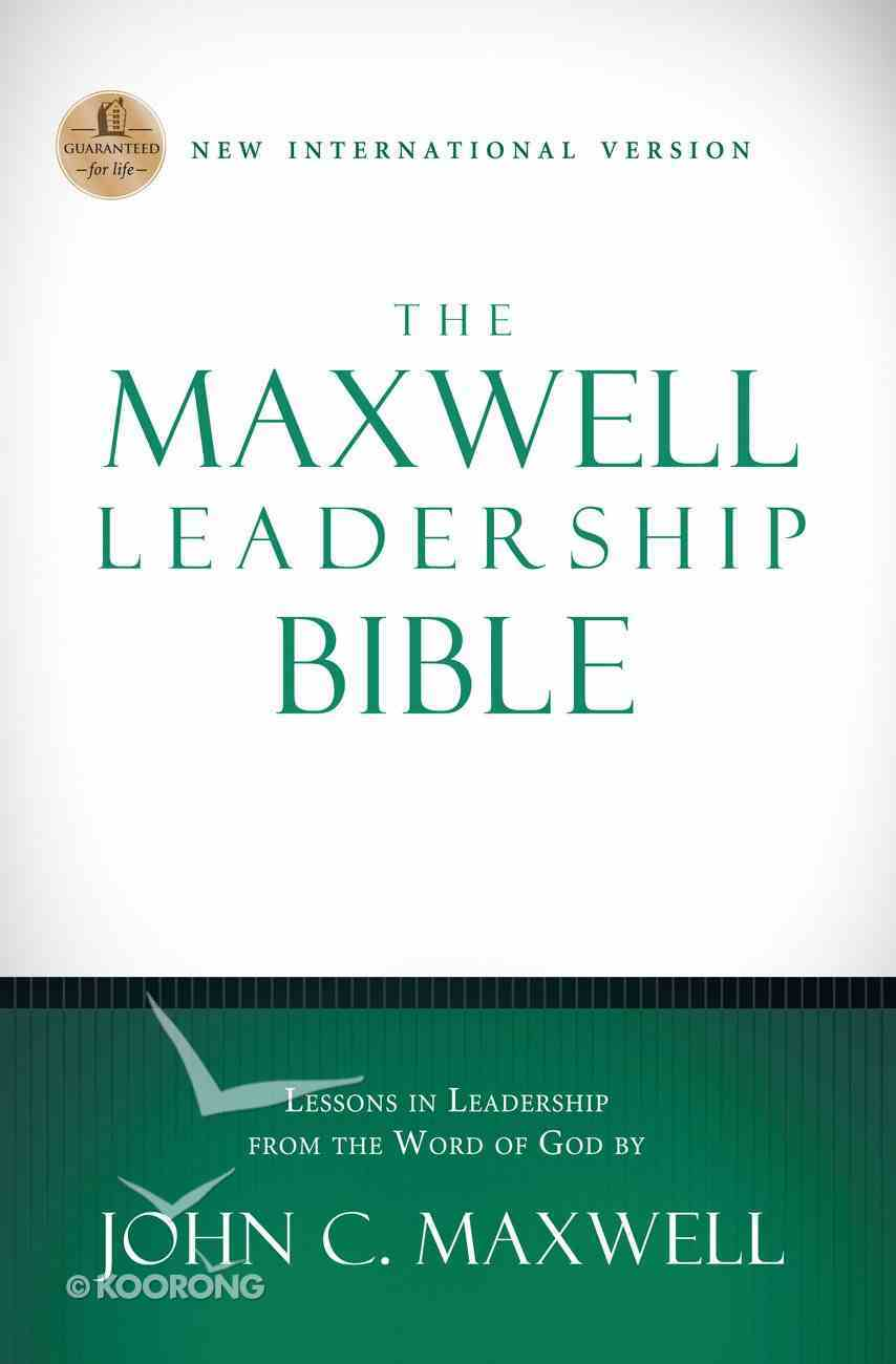 The Maxwell Leadership Bible, NIV (101 Questions About The Bible Kingstone Comics Series) eBook