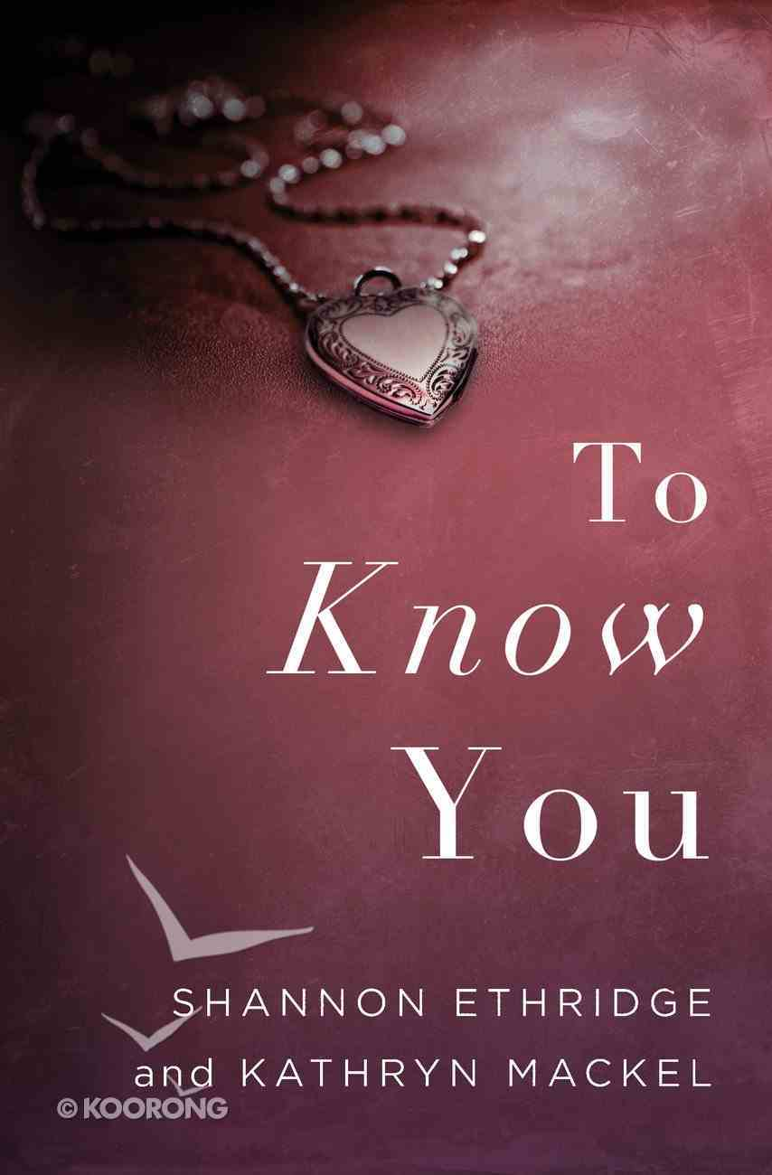 To Know You eBook