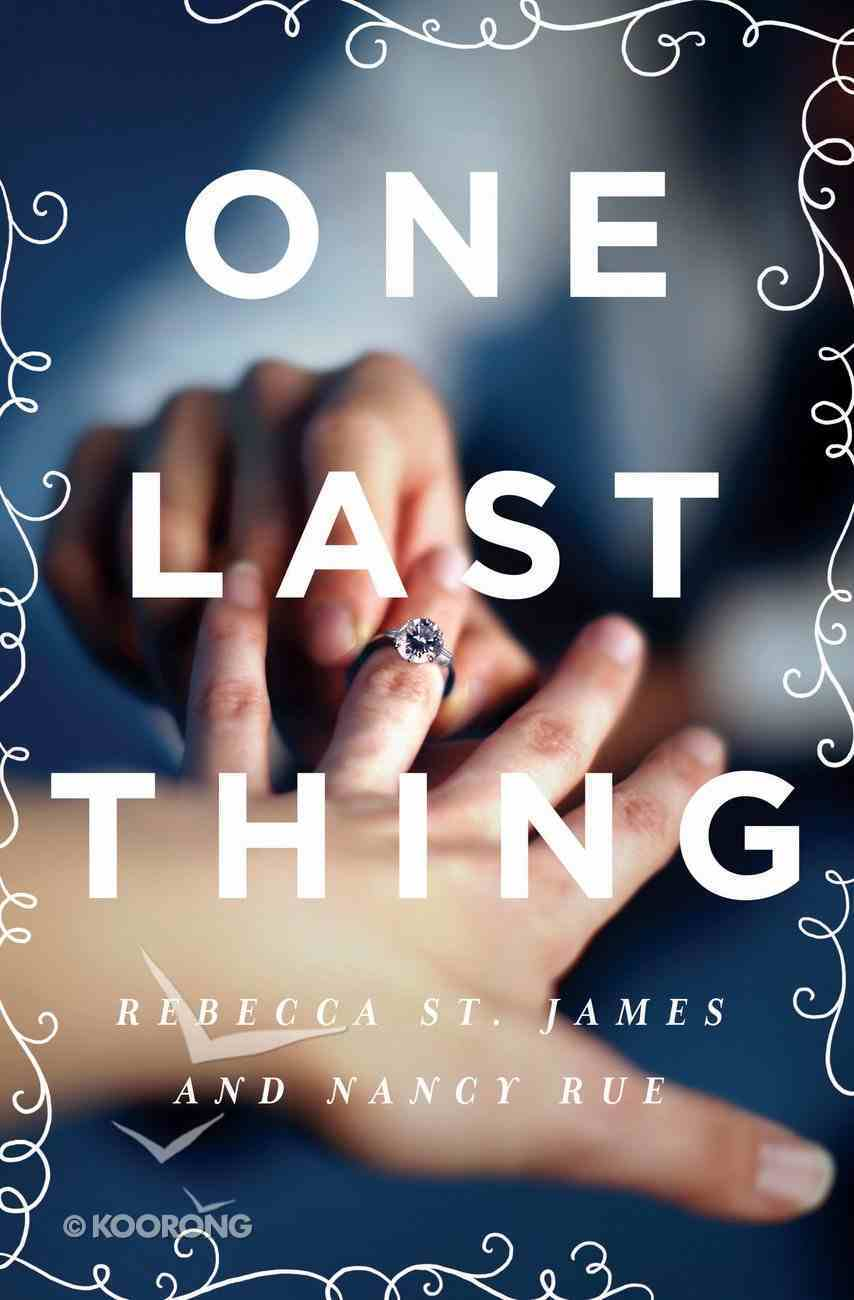 One Last Thing eBook