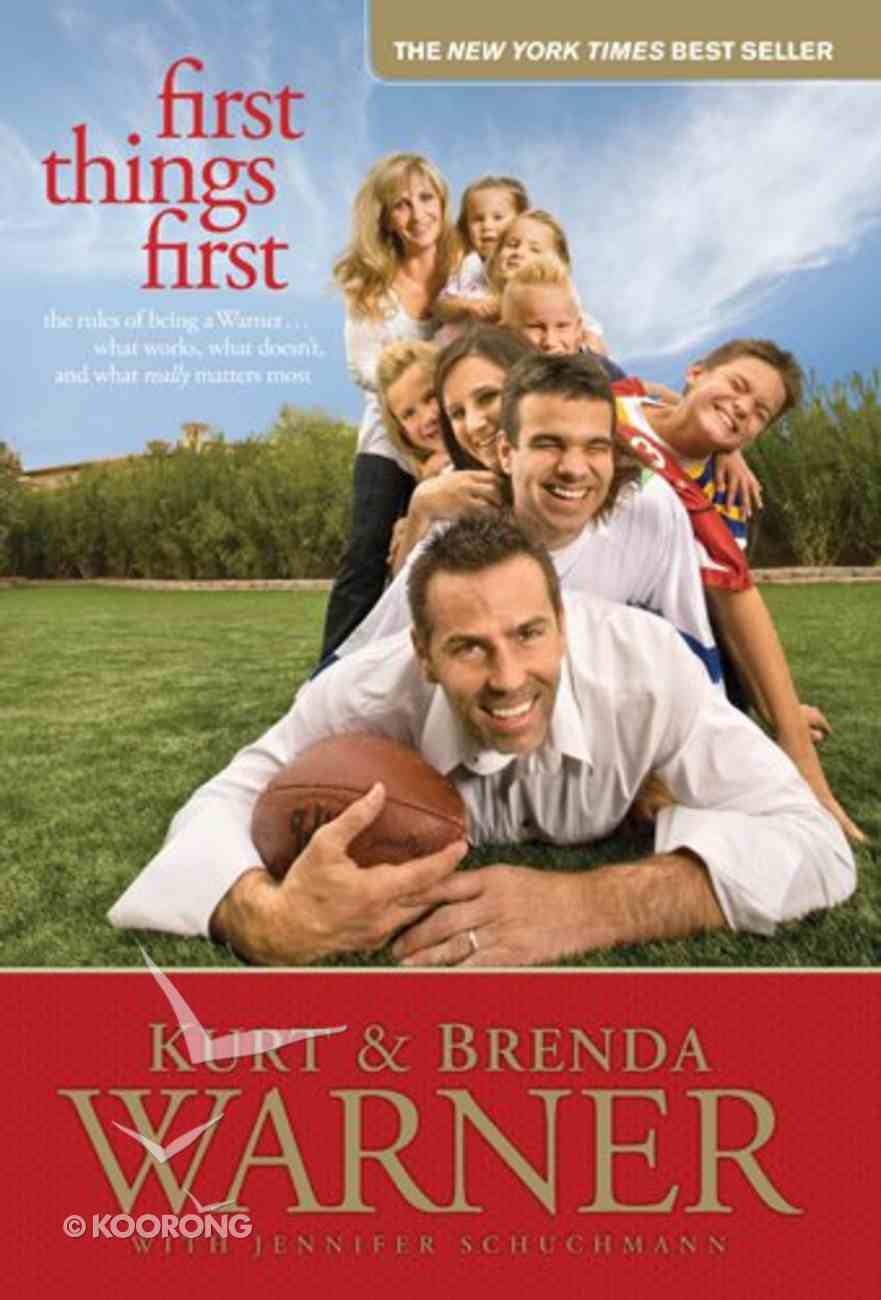 First Things First eBook