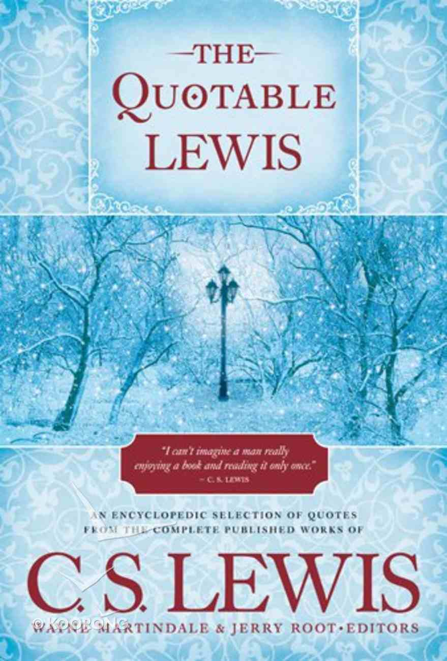 The Quotable Lewis eBook