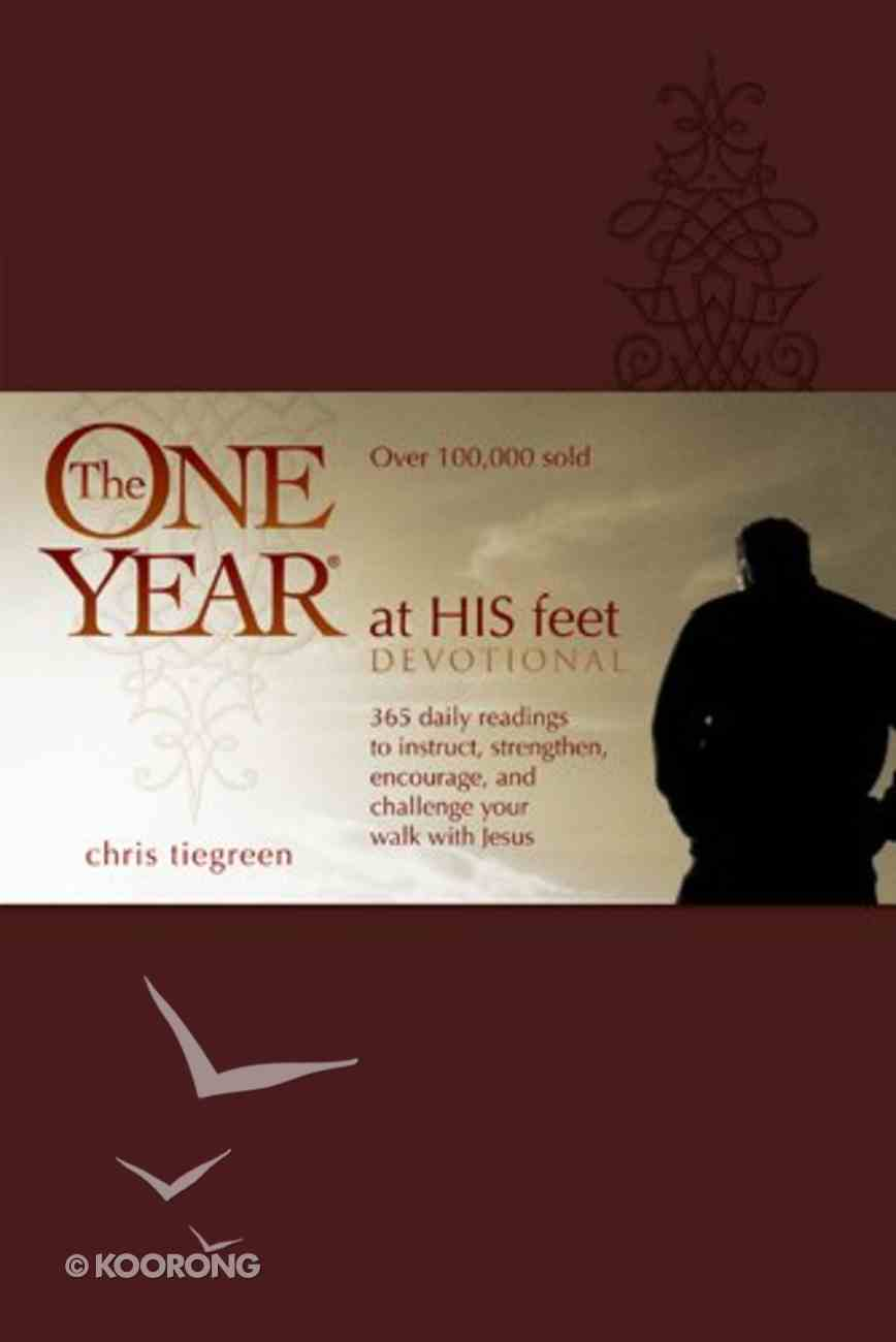 The One Year At His Feet Devotional eBook