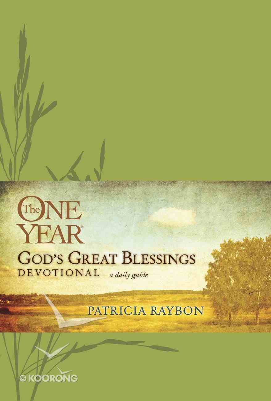 The One Year God's Great Blessings Devotional eBook