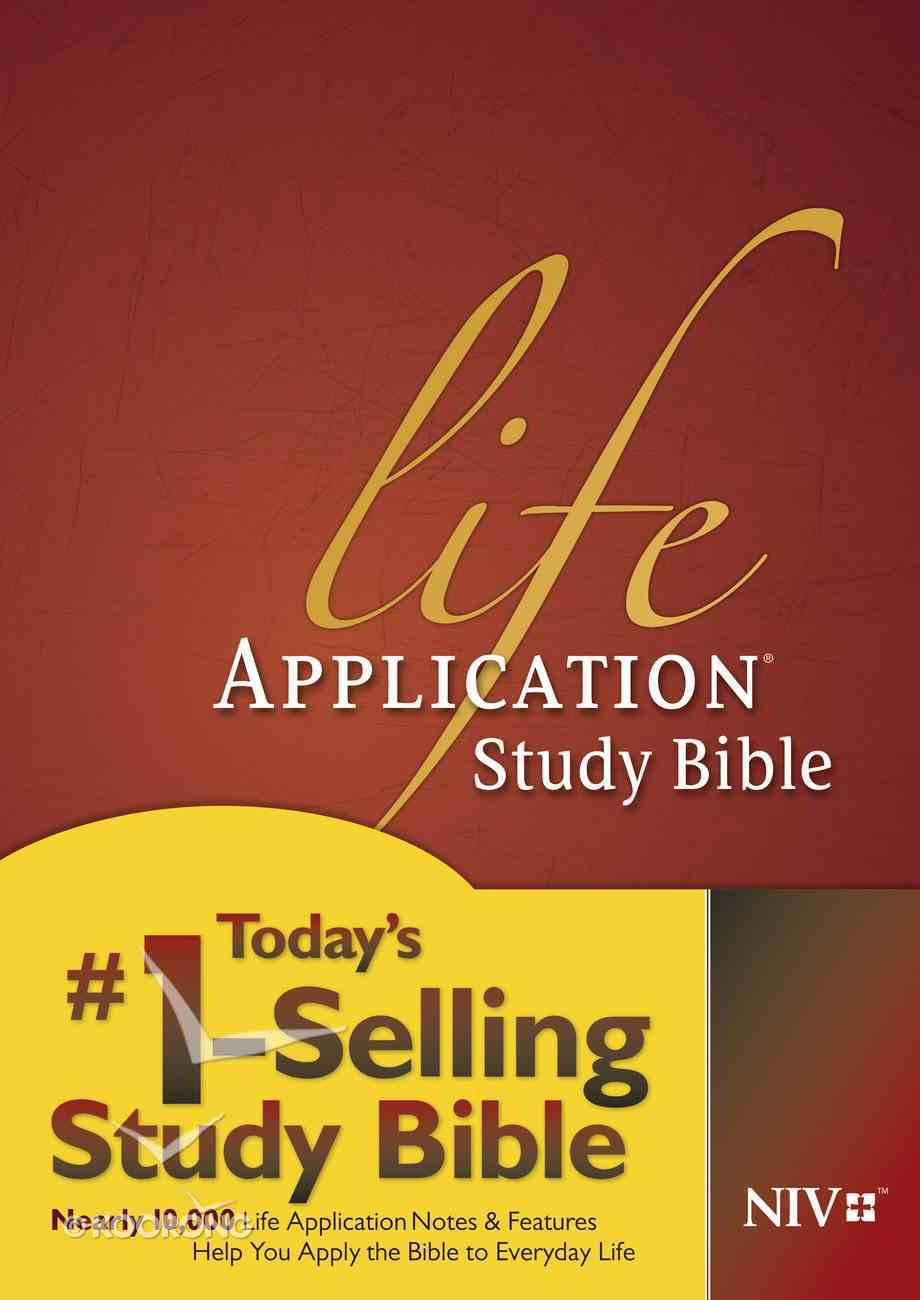 NIV Life Application Study Bible Red Letter Edition eBook