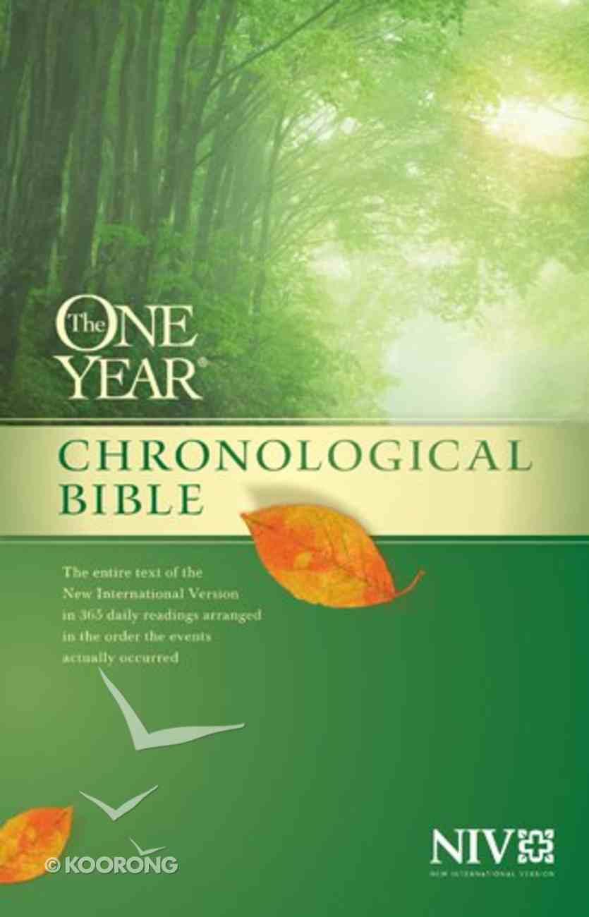 NIV One Year Chronological Bible eBook