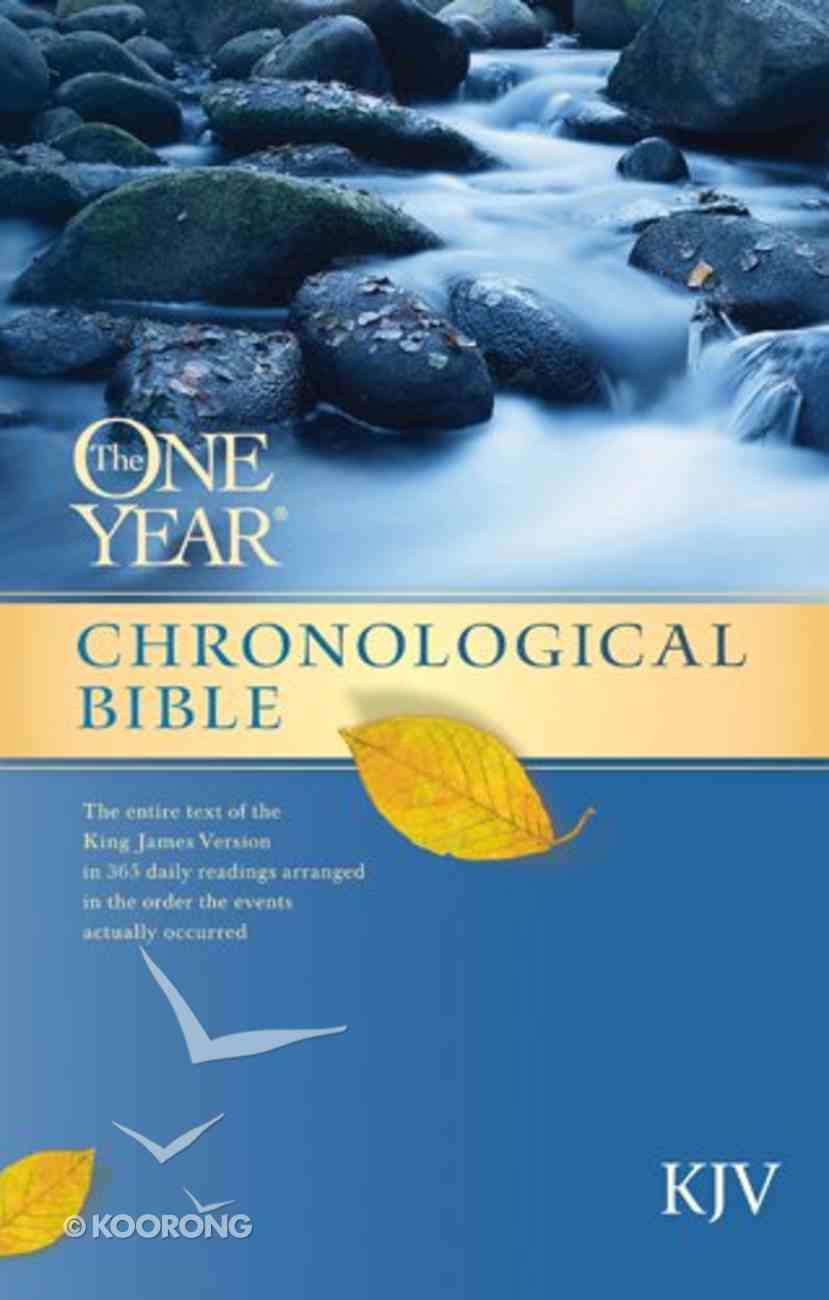 The KJV One Year Chronological Bible (101 Questions About The Bible Kingstone Comics Series) eBook