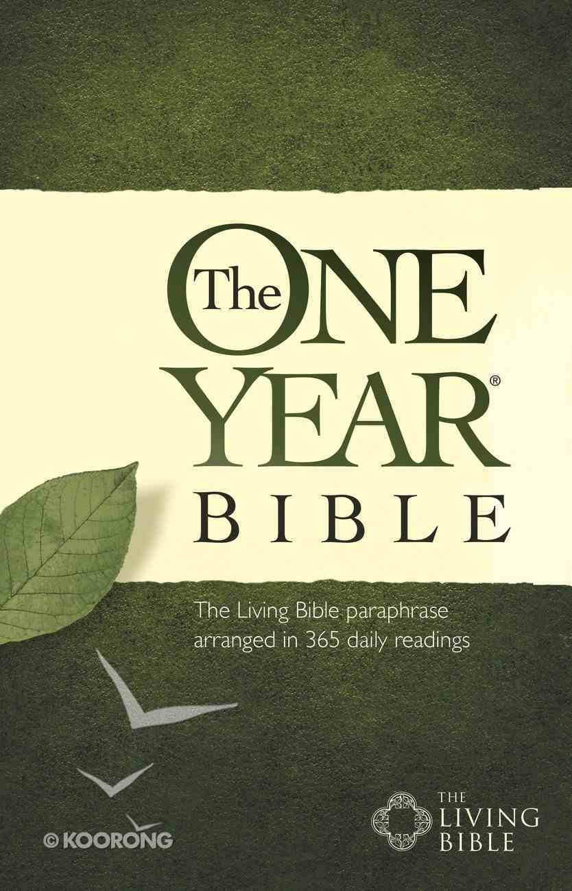 The One Year Bible Tlb eBook
