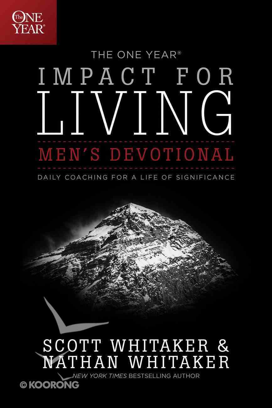 The One Year Impact For Living Men's Devotional eBook