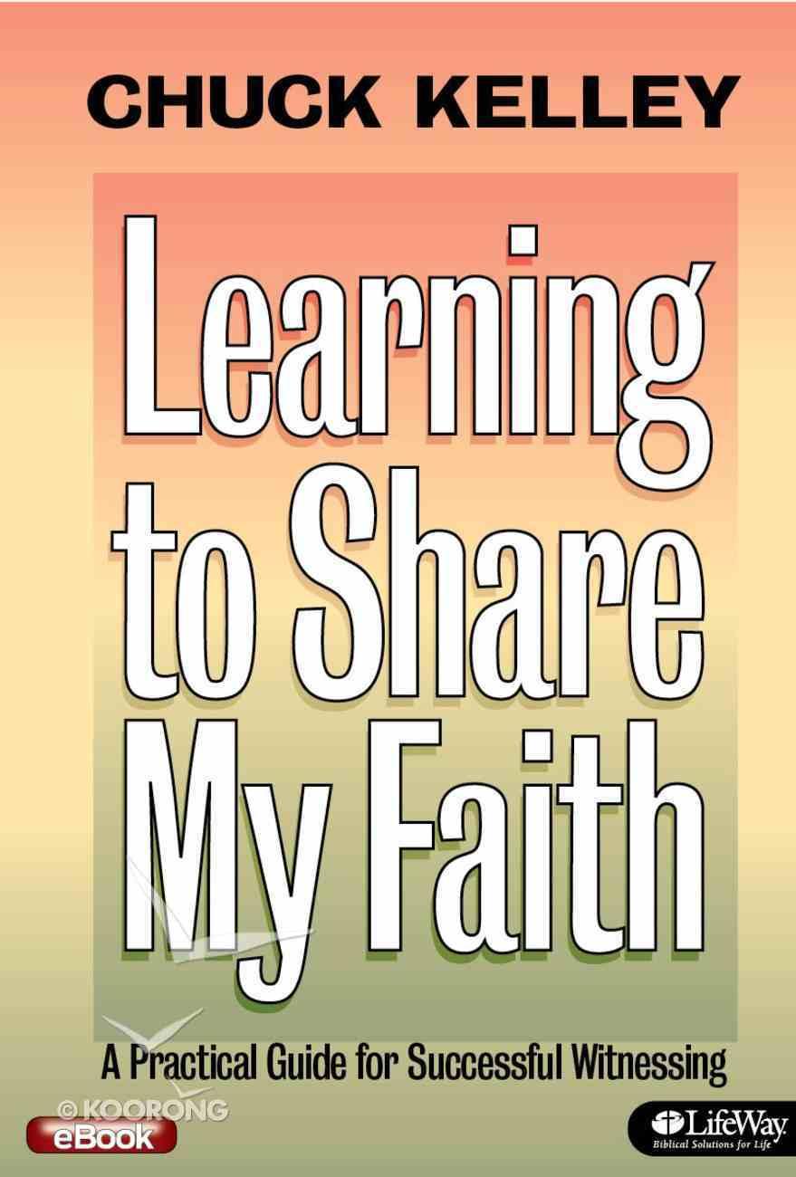 Learning to Share My Faith eBook