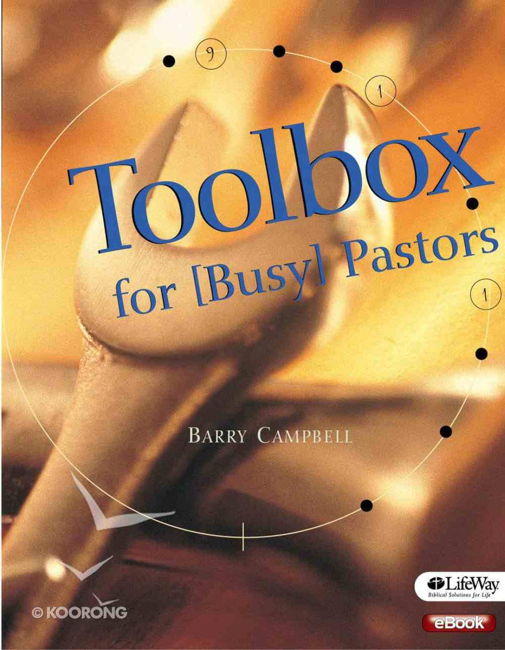 Toolbox For Busy Pastors eBook