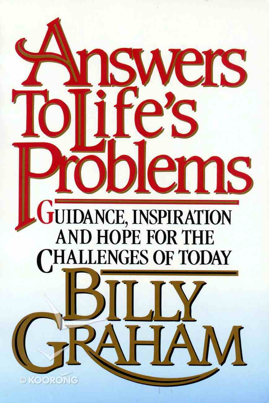 Answer's to Life's Problems eBook