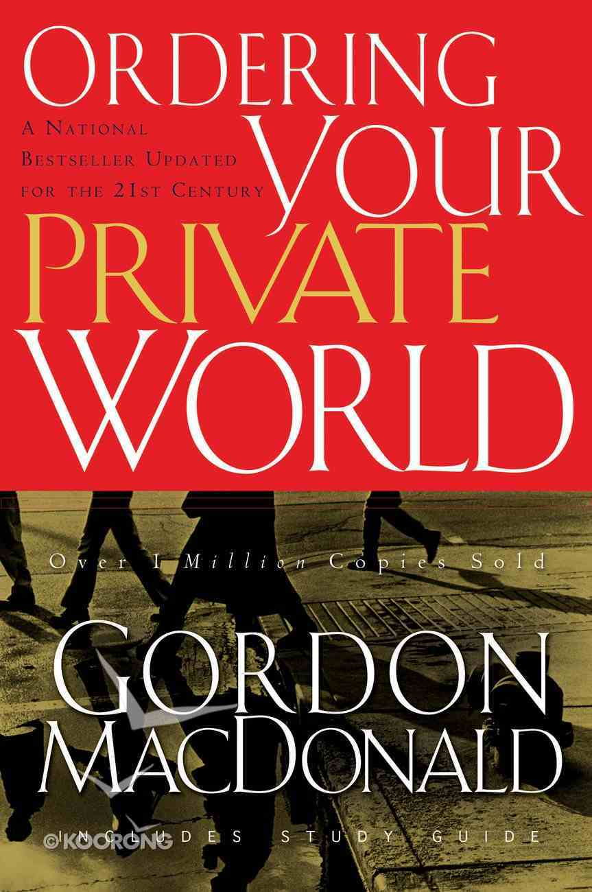 Ordering Your Private World eBook