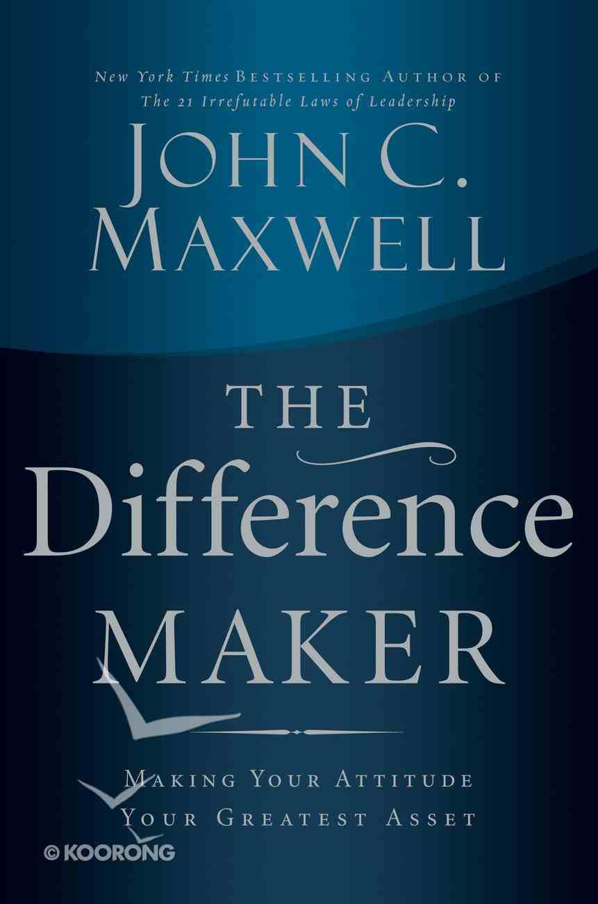 The Difference Maker eBook