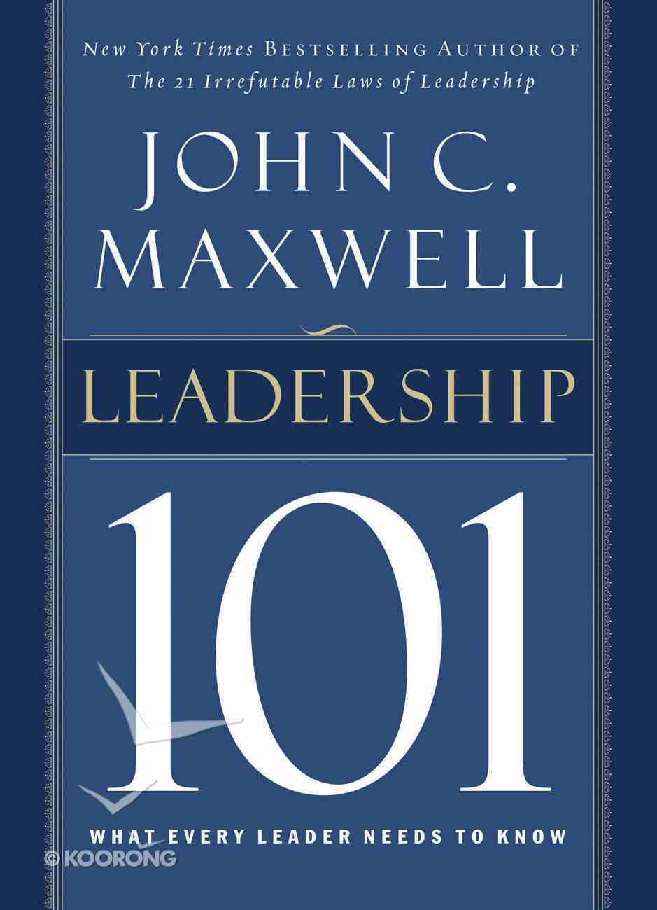 Leadership 101 eBook