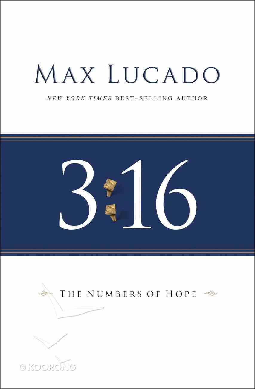 3: 16 - the Numbers of Hope eBook