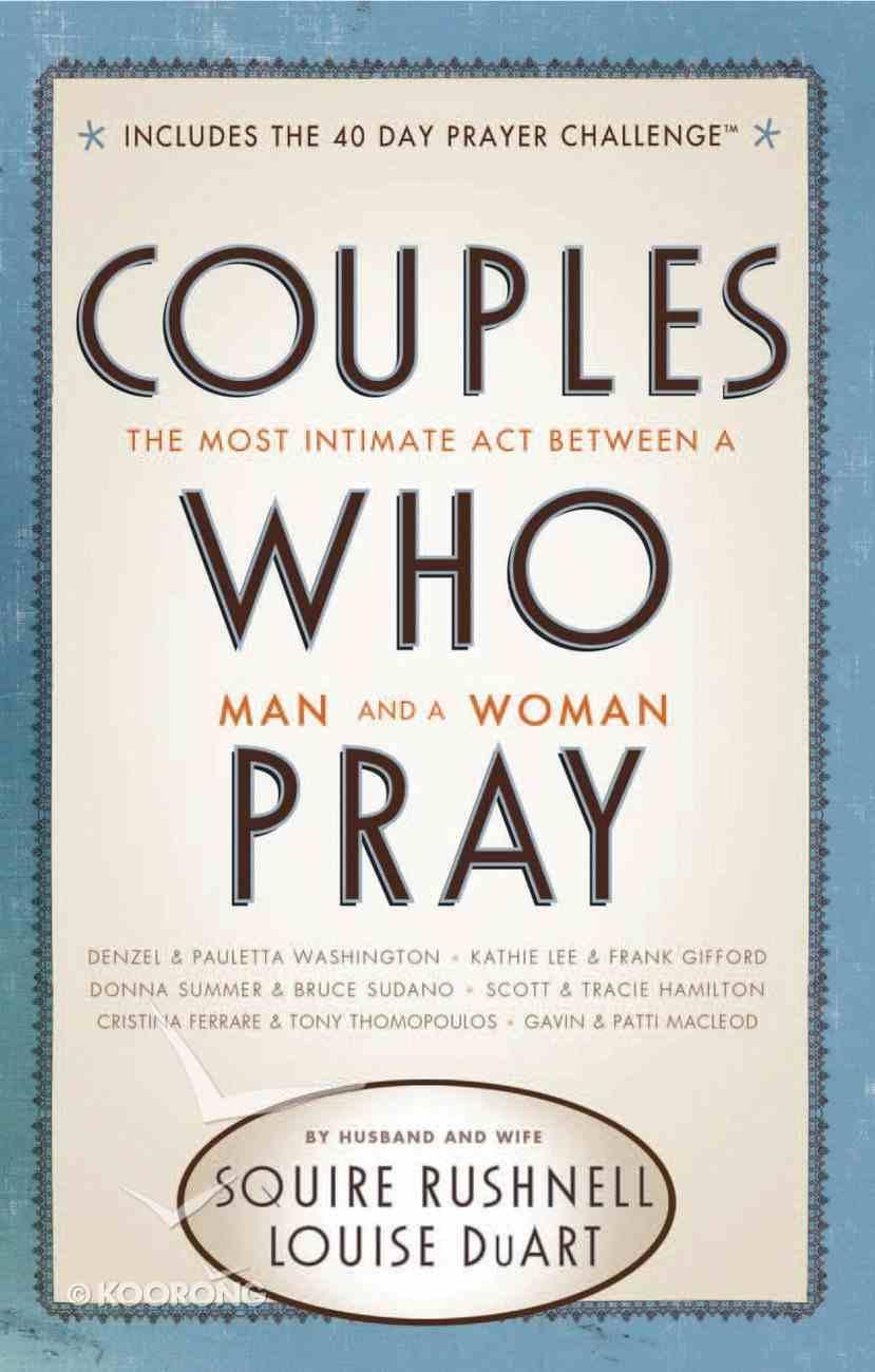 Couples Who Pray eBook