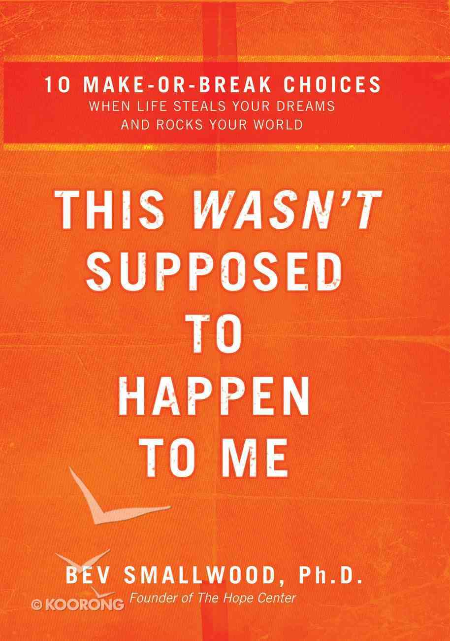 This Wasn't Supposed to Happen to Me eBook