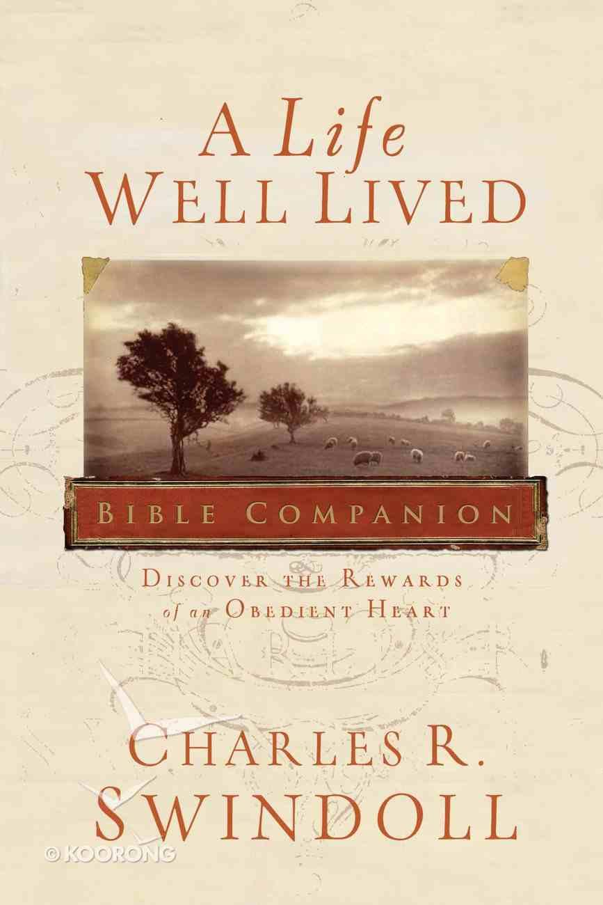 A Life Well Lived Bible Companion eBook