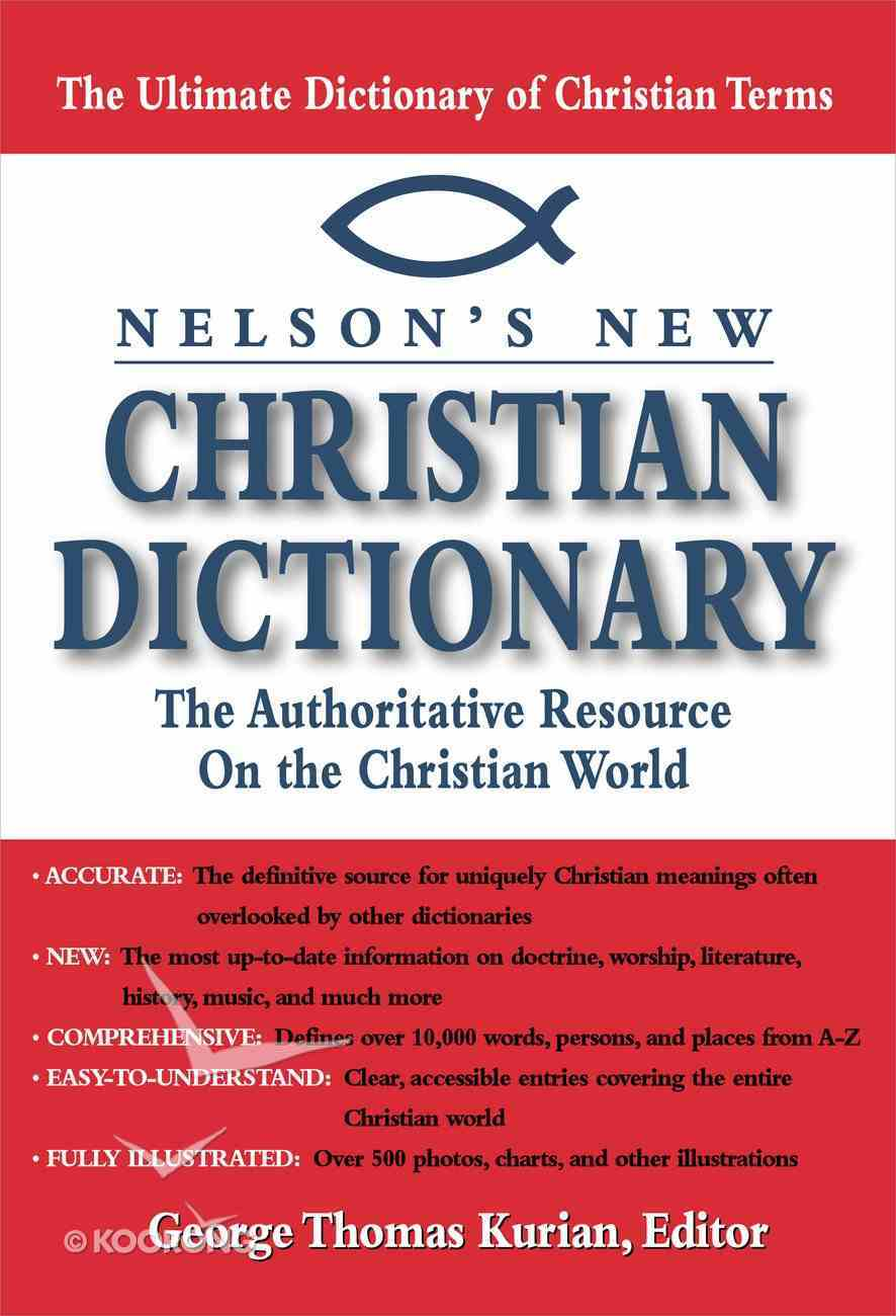 Nelson's New Christian Dictionary eBook
