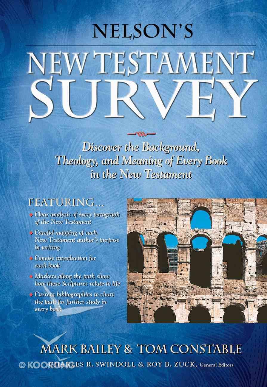 Nelson's New Testament Survey eBook