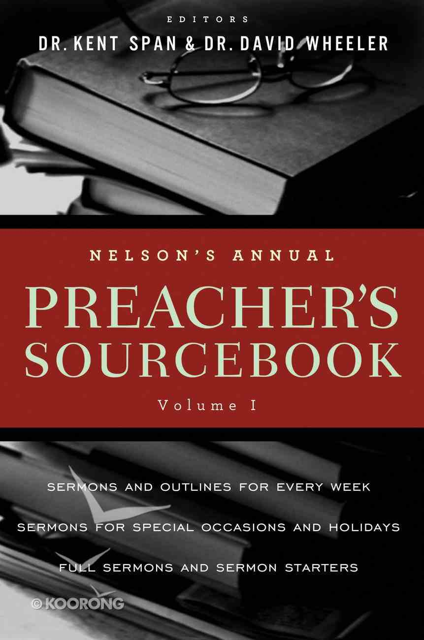 Nelson's Annual Preacher's Sourcebook (2012) eBook