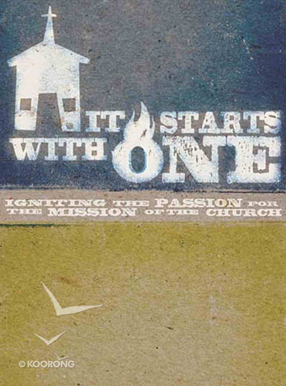 It Start's With One (Participant's Guide) eBook