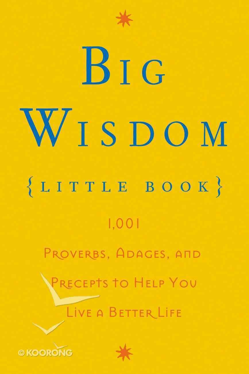 Big Wisdom, Little Book eBook