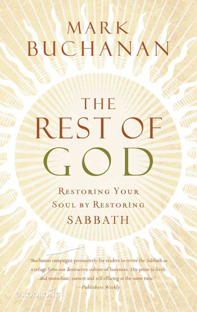 The Rest of God eBook