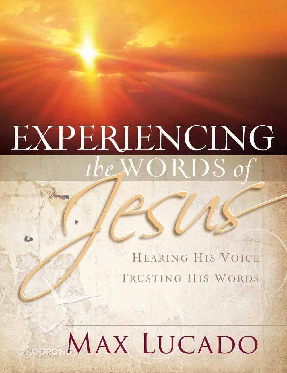 Experiencing the Words of Jesus (Workbook) eBook