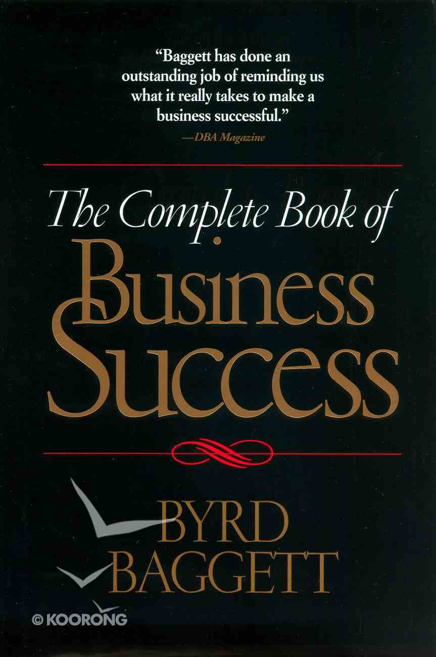 The Complete Book of Business Success eBook