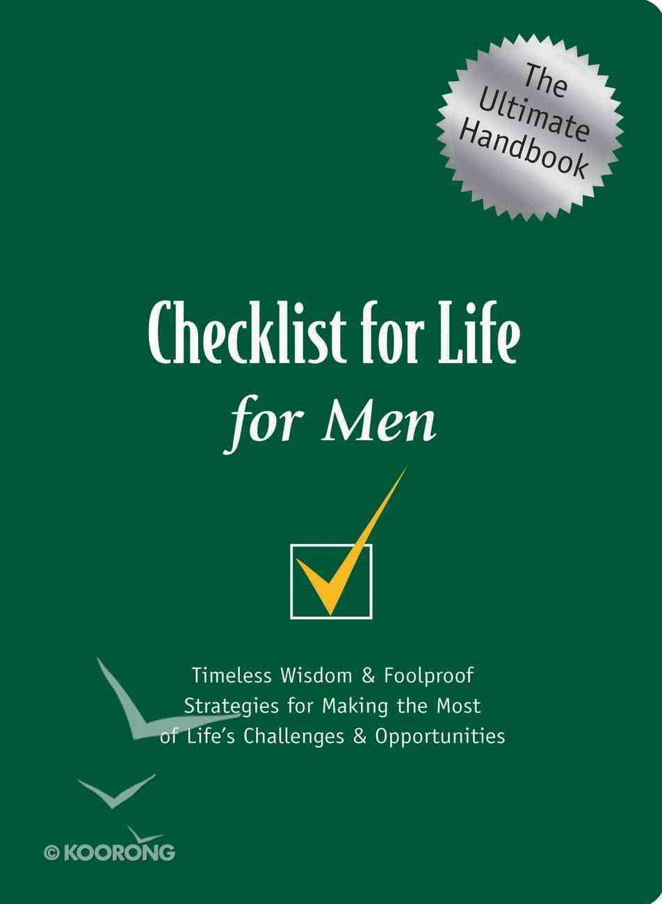 For Men (Checklist For Life Series) eBook