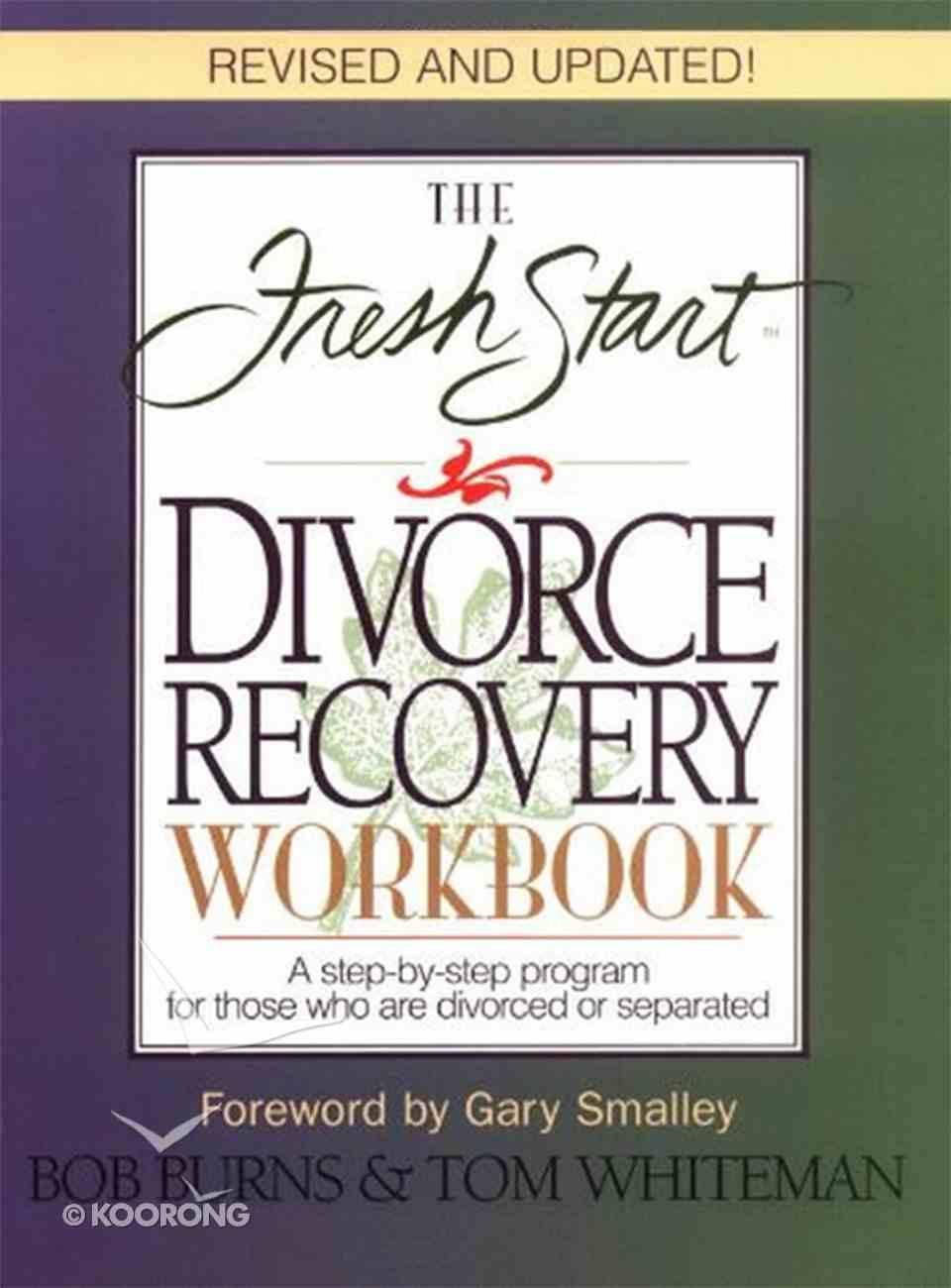 The Fresh Start Divorce Recovery Workbook eBook