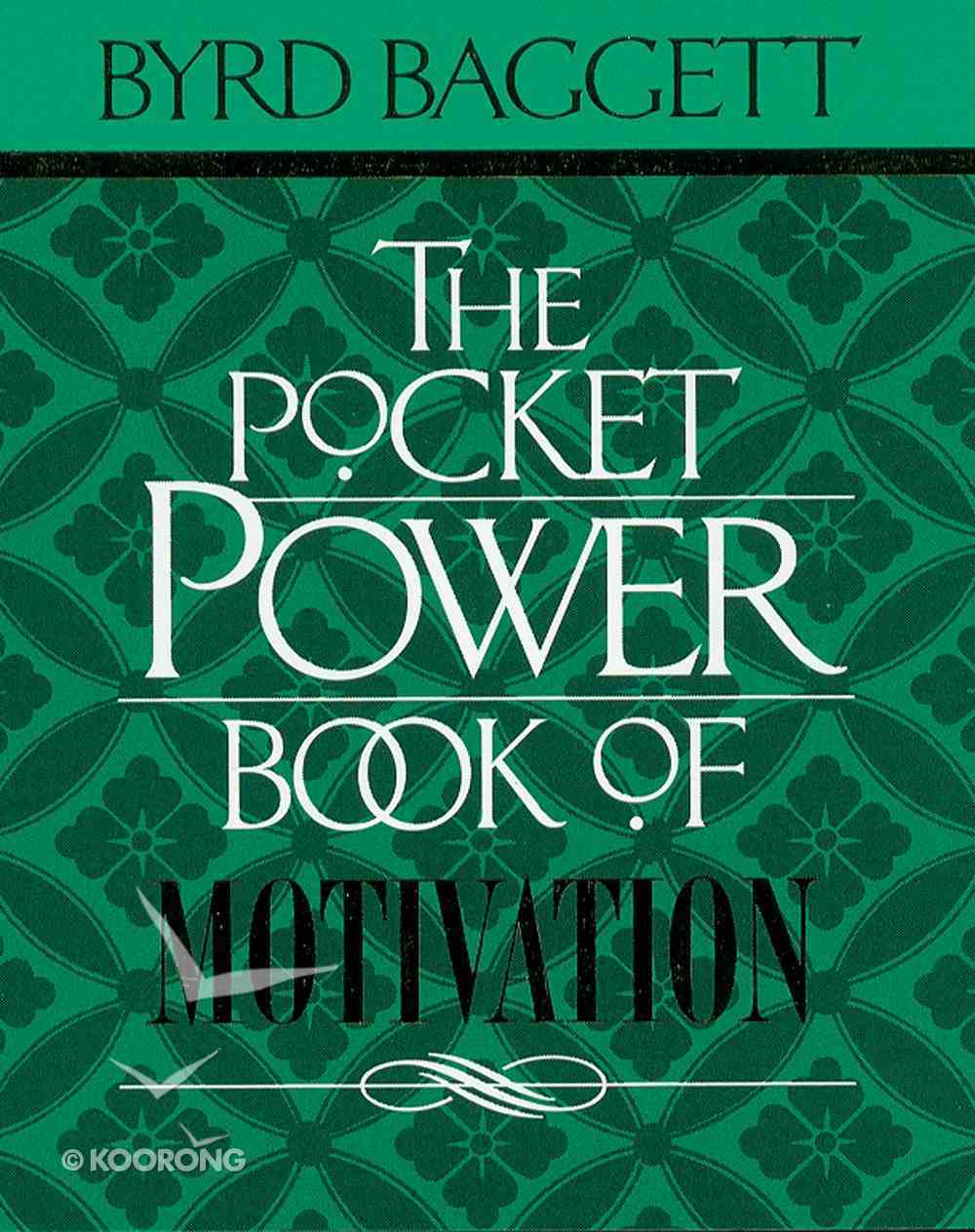 The Pocket Power Book of Motivation eBook