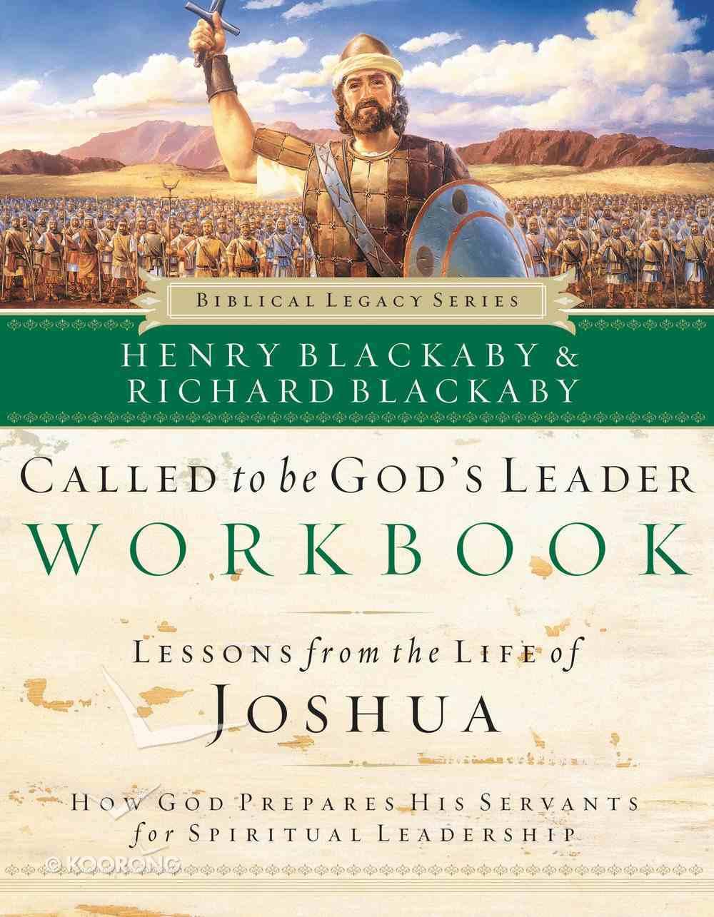 Called to Be God's Leader (Workbook) (Biblical Legacy Series) eBook
