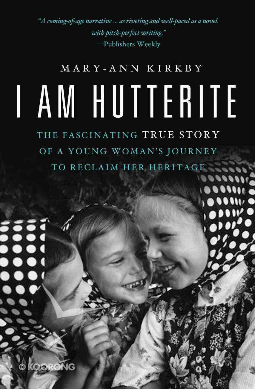 I Am Hutterite eBook