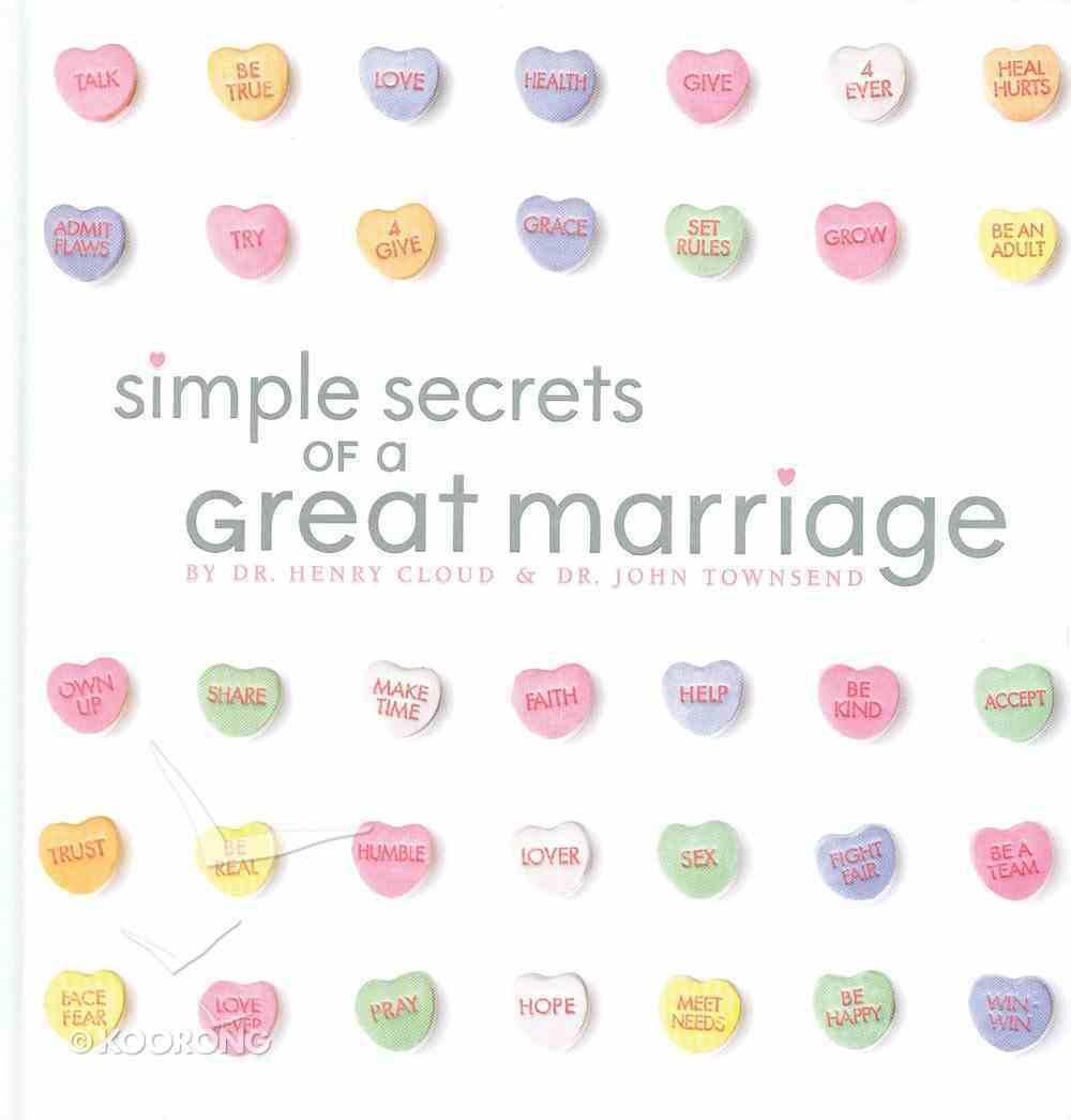 Simple Secrets of a Great Marriage eBook