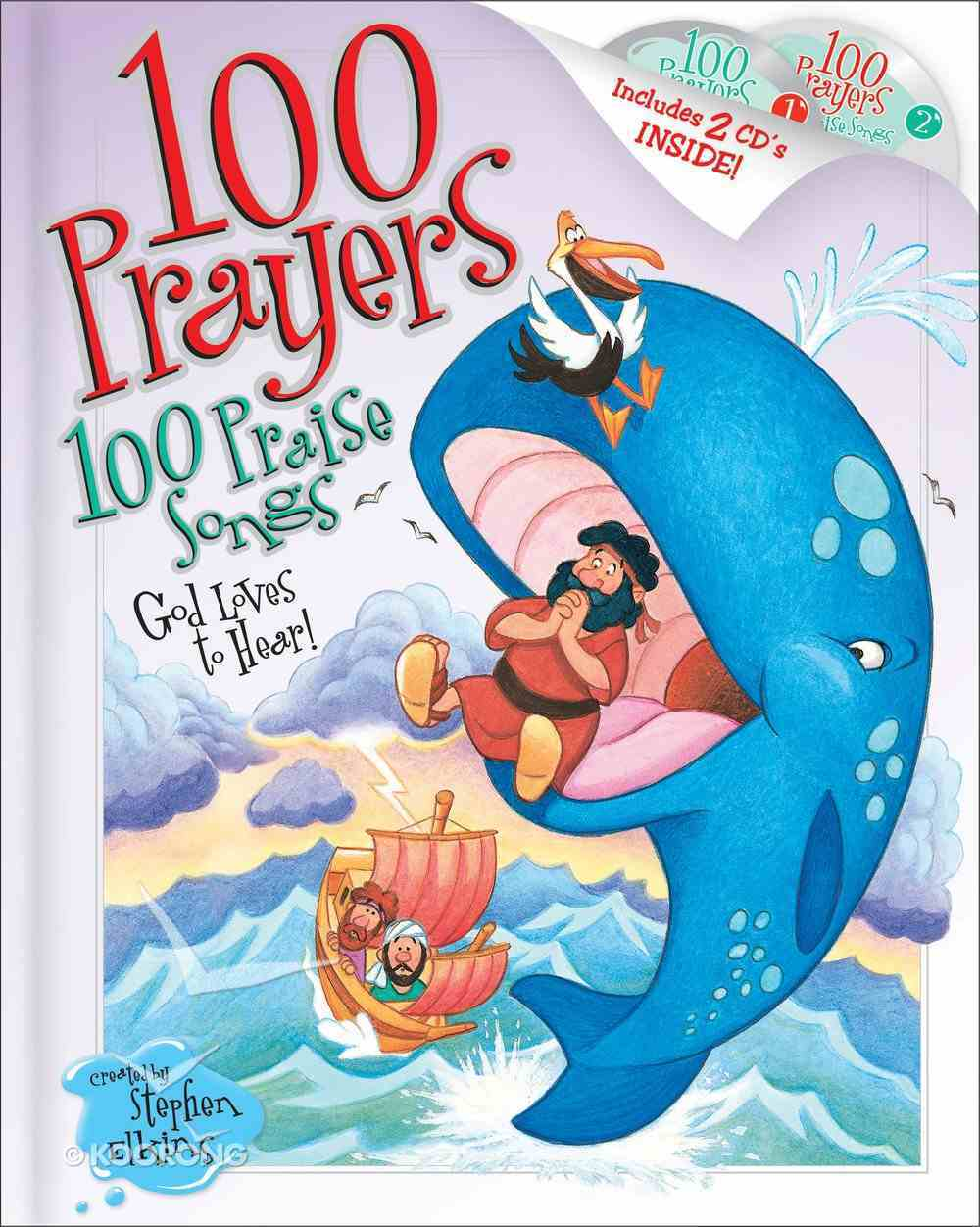 100 Prayers God Loves to Hear, 100 Praise Songs (101 Questions About The Bible Kingstone Comics Series) eBook