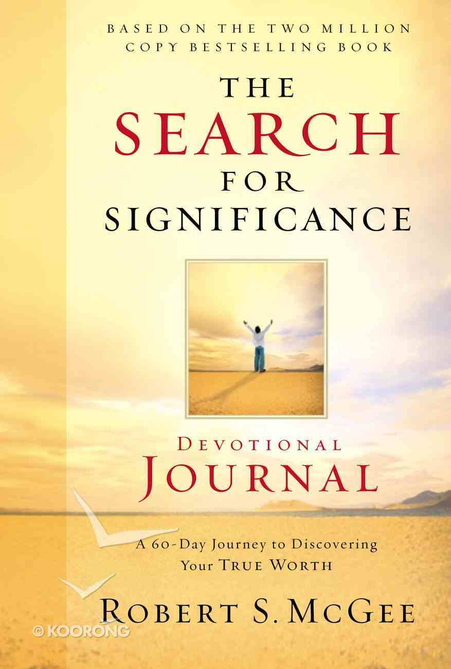 The Search For Significance (Devotional Journal) eBook