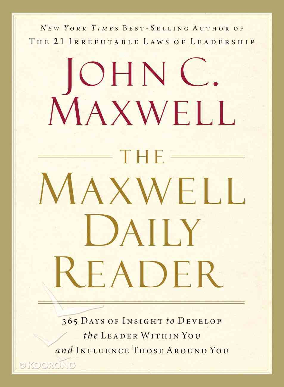 The Maxwell Daily Reader eBook