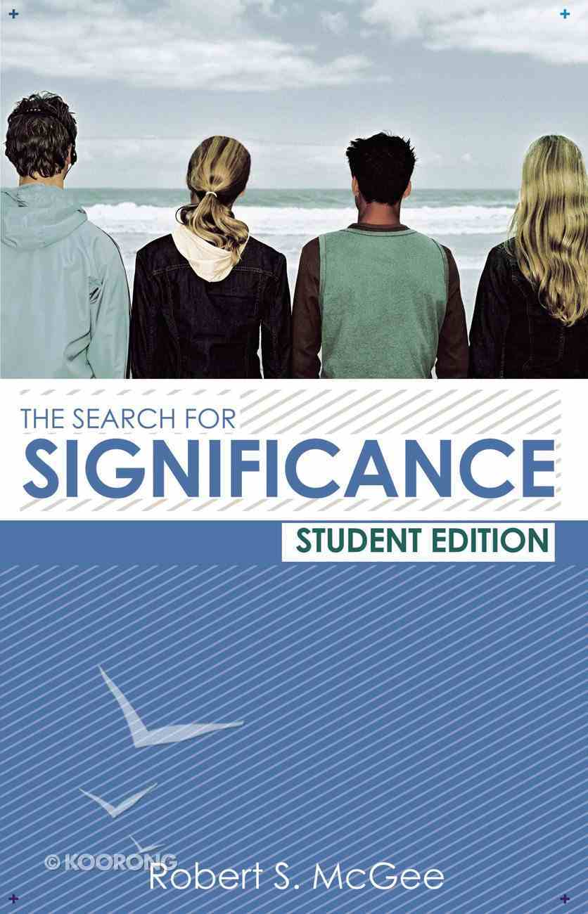 Search For Significance (Student Edition) eBook